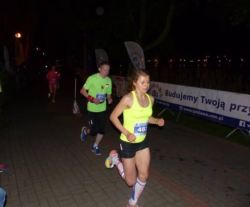 Nocny bieg iława 2016