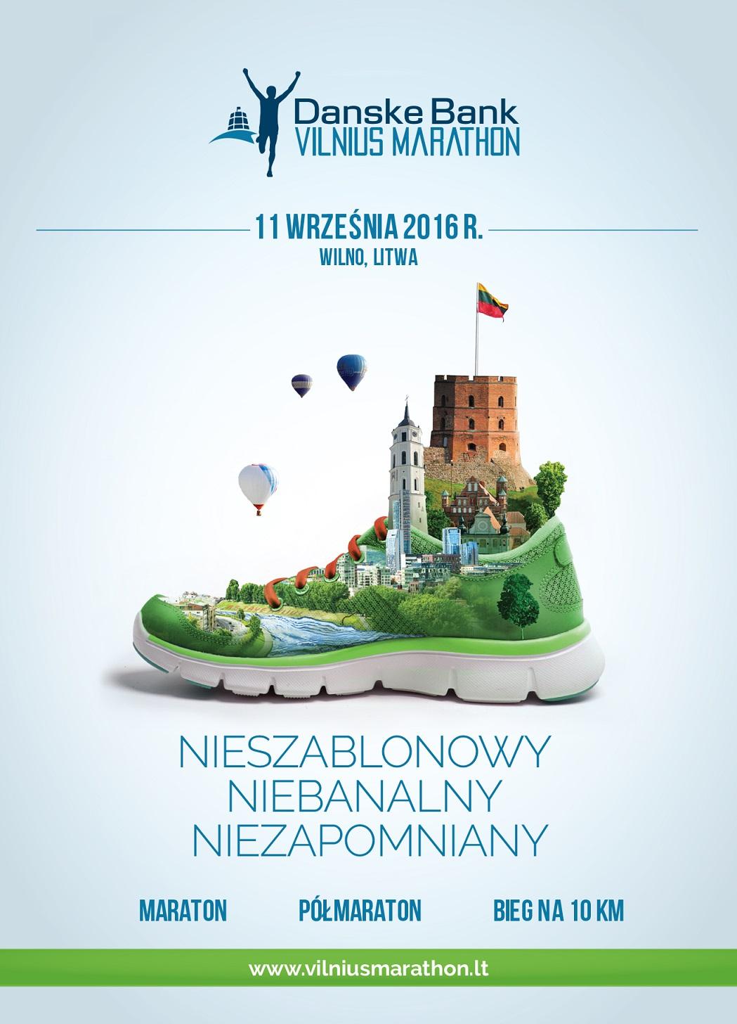 Maraton w Wilnie 2016 zdjęcia trasa konkurs